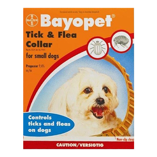 Bayopet Tick and Flea Collar for Dog Supplies