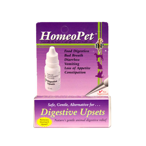 HomeoPet Digestive Upset  for Homeopathic Supplies