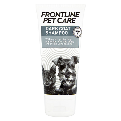 Frontline Pet Care Dark Coat Shampoo for Dog Supplies