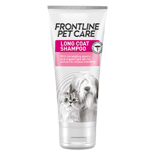 Frontline Pet Care Long Coat Shampoo for Dog Supplies