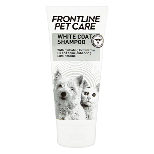 Frontline Pet Care White Coat Shampoo for Dog Supplies