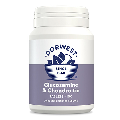 Glucosamine & Chondroitin Tablets for Dog Supplies