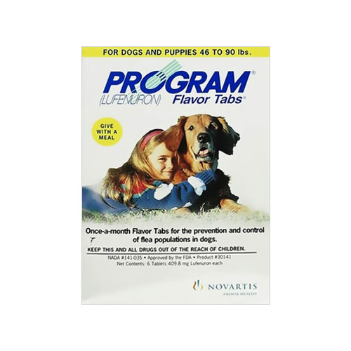 Program Flavor Tabs for Dog Supplies