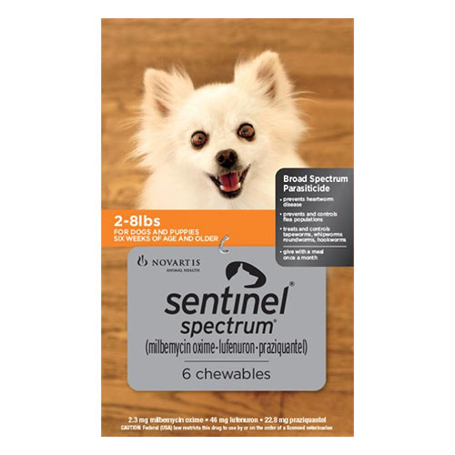 Sentinel Spectrum for Dogs for Dog Supplies